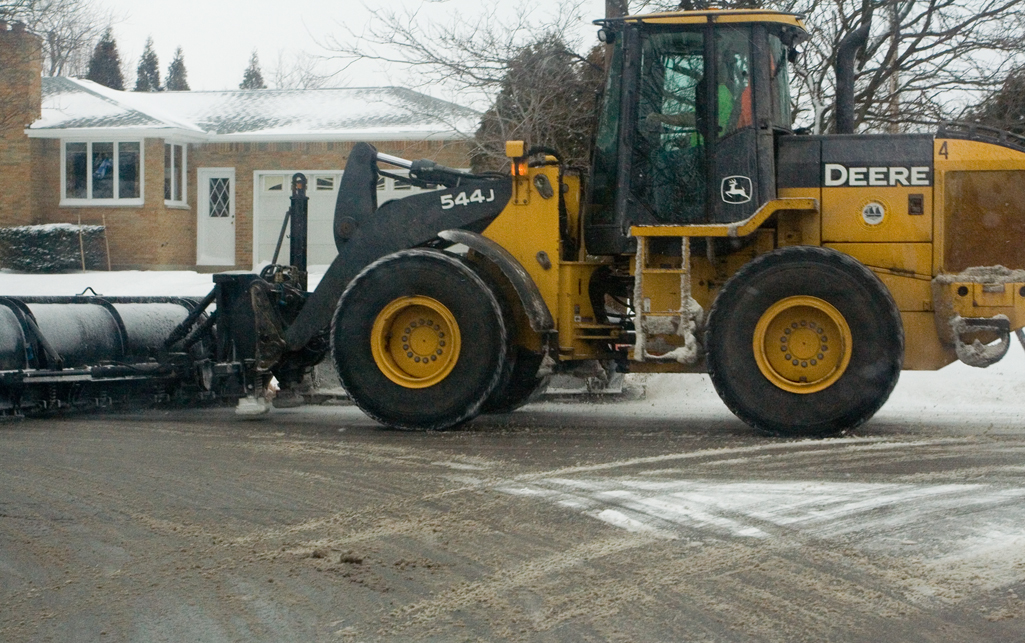 Local plow
